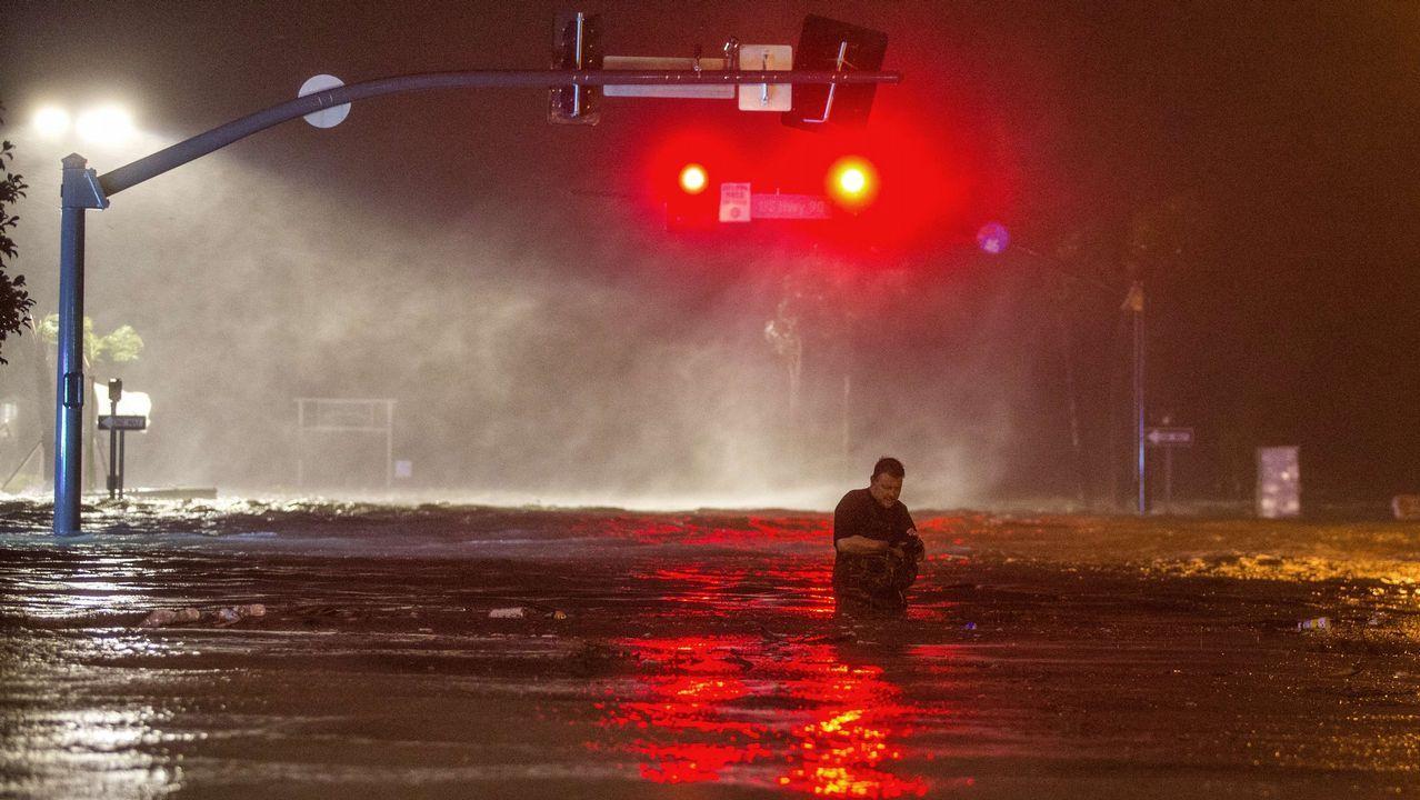 «Nate» llega a Estados Unidos como tormenta tropical.Isabel Barreto
