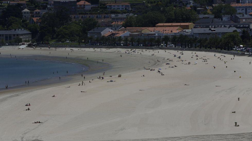 Oleiros. Playa de Santa Cristina