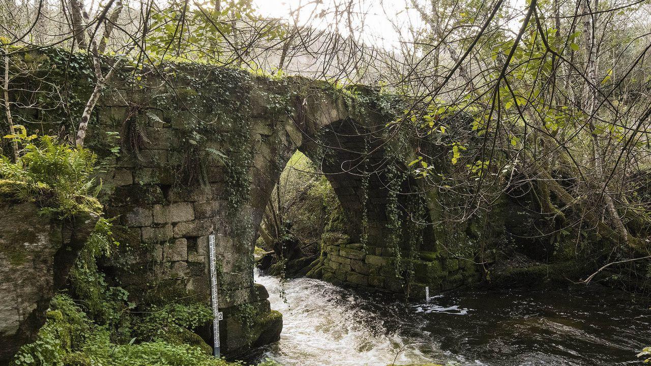 El puente de Lumeares es uno de los atractivos del recorrido