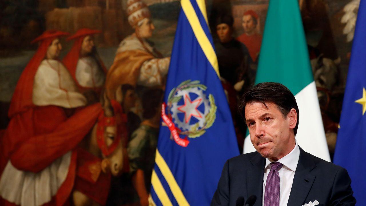 Conte lanzó el ultimatum en una rueda de prensa en la sede del Gobierno en Roma.