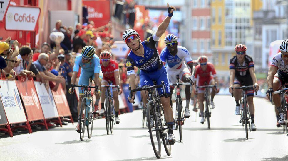 La Ribeira Sacra enamora a La Vuelta