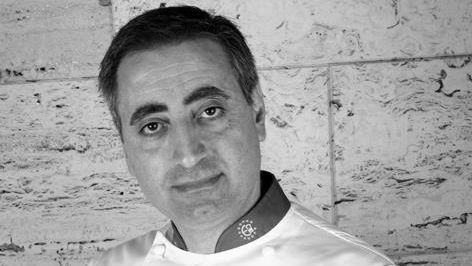 Una constelación de estrellas Michelin en Negreira.Luis Alberto Martínez, chef de Casa Fermín