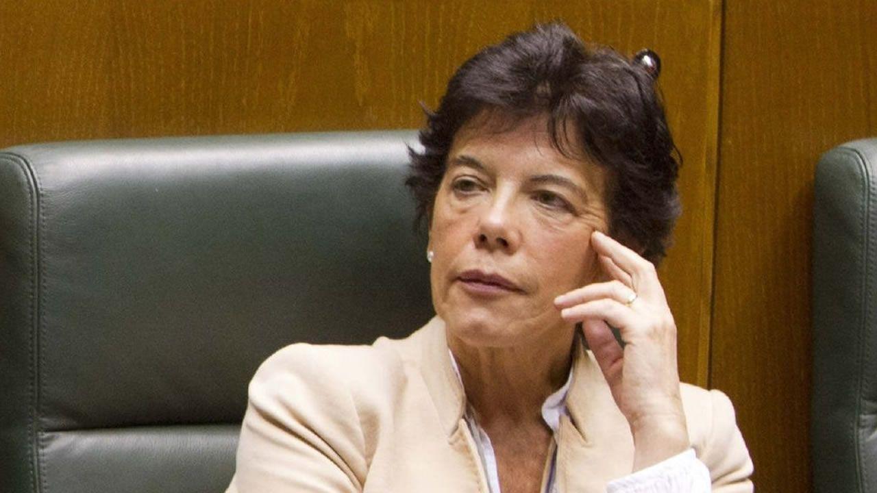 Ministerio portavoz de Educación de Formación Profesional: Isabel Celaá