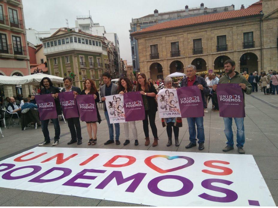 Cartel Unidos Podemos