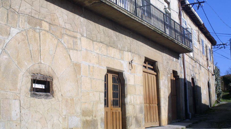 Casa de los Gaibor, en el casco antiguo de Monforte