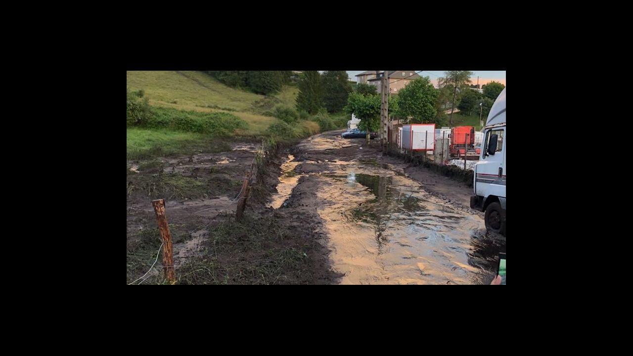 Maceda creará barreras de protección para evitar los daños de la tormenta.Asunción Rodríguez, de la bodega Crego e Monaguillo