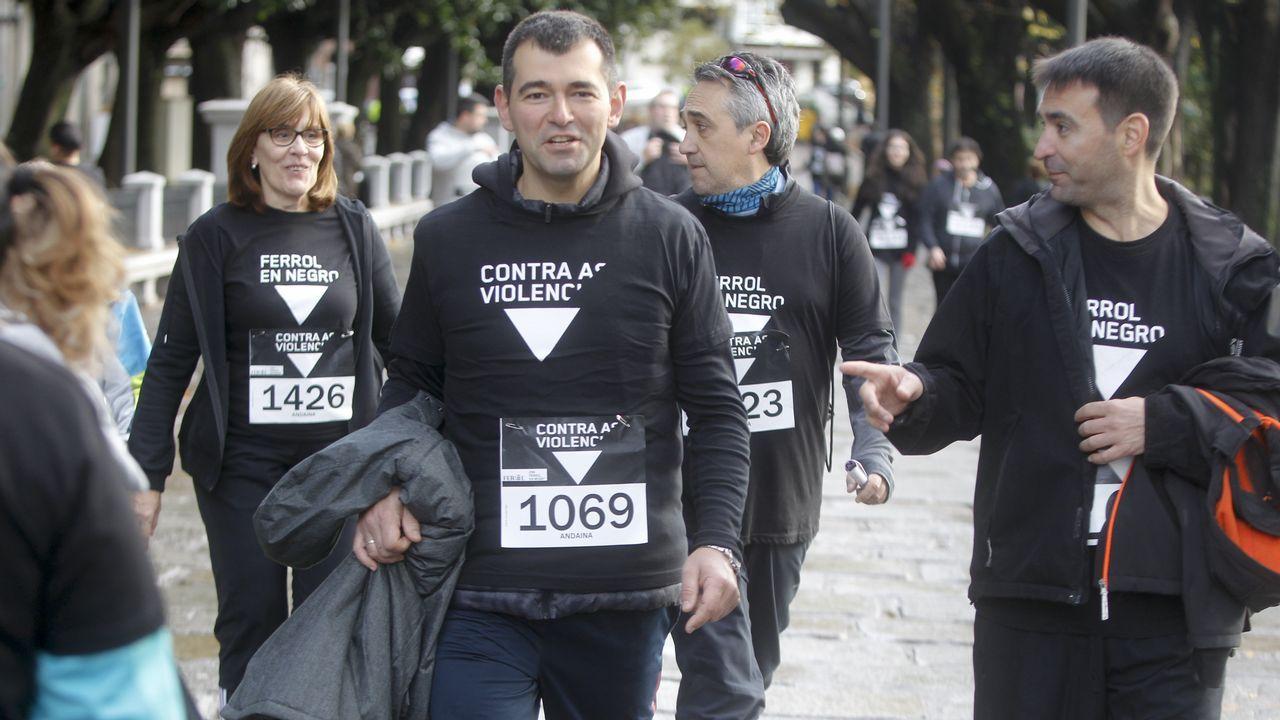 Carrera contra la violencia de género en Ferrol