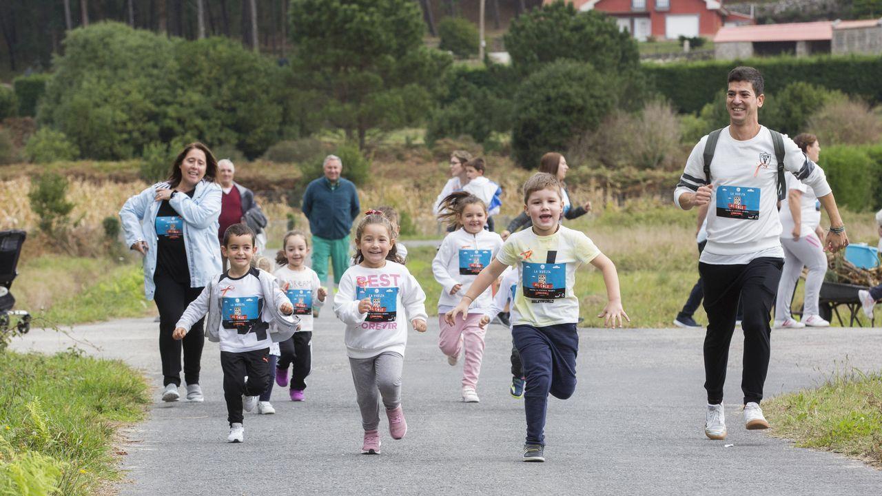 La unitaria de Traba, en Laxe, corrió contra la leucemia infantil: ¡mira las imágenes!