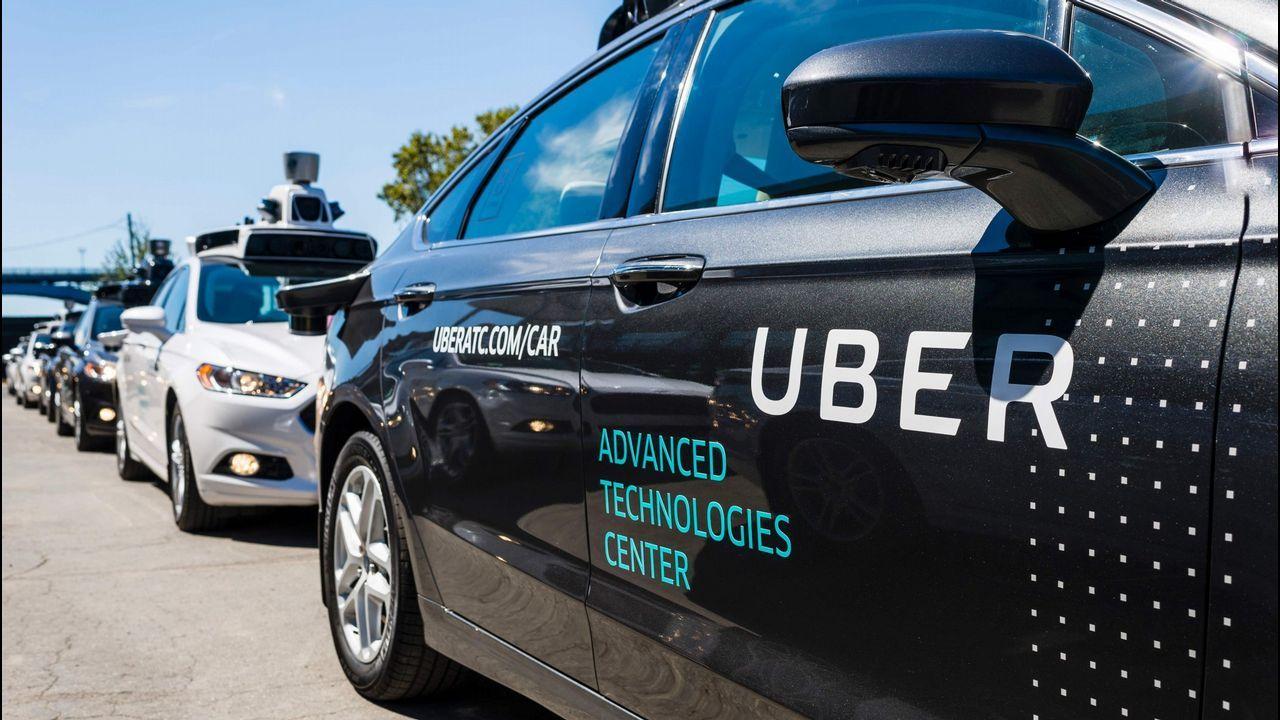 Coches autónomos de Uber