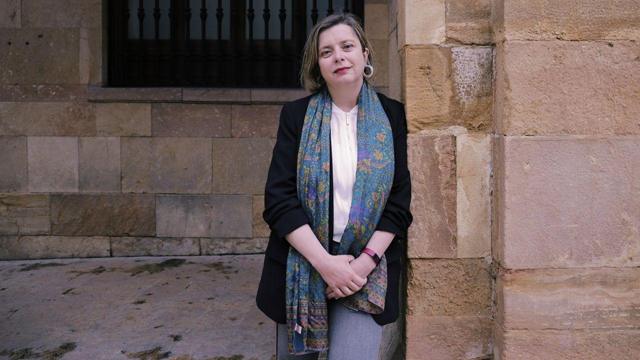 Ana Taboada, candidata de Somos a la alcaldía de Oviedo