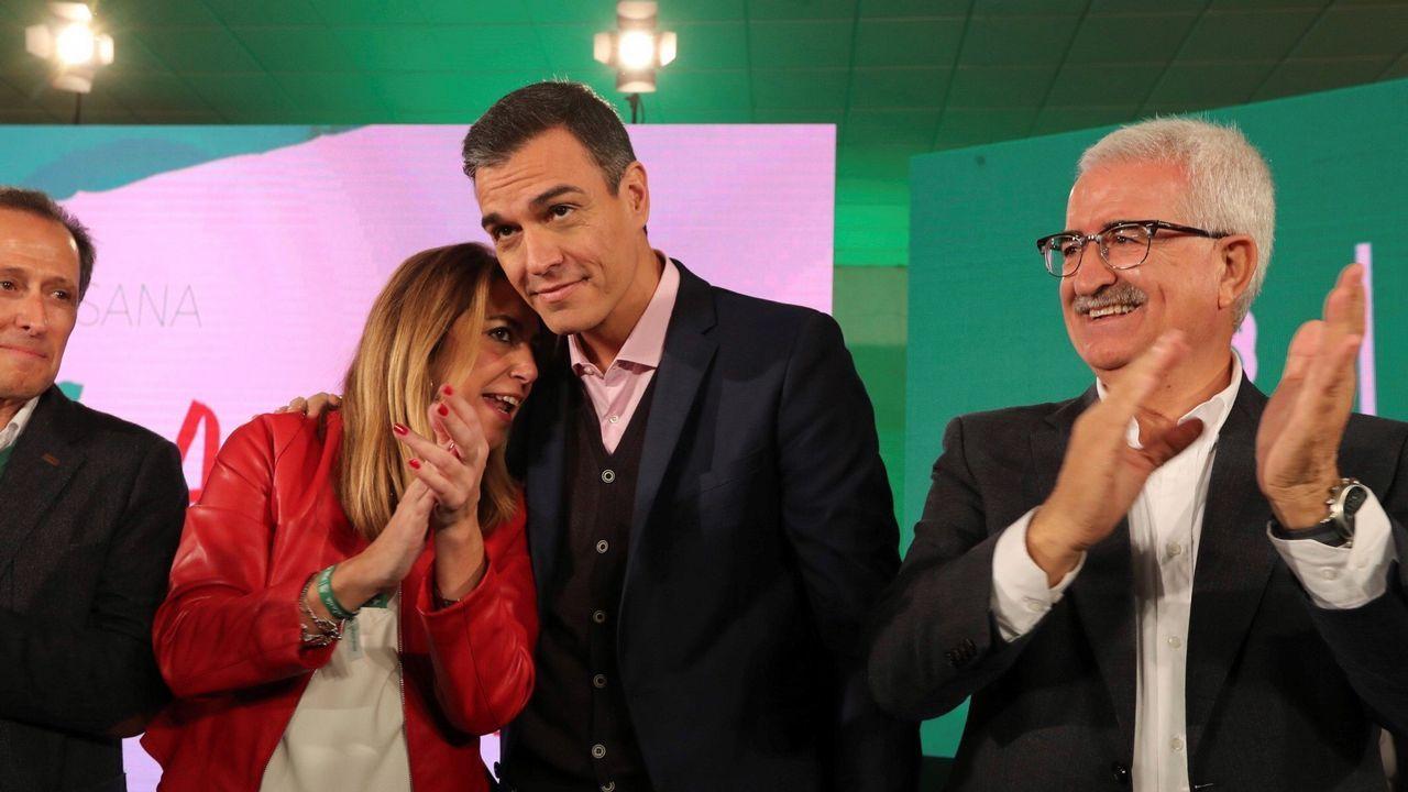 Pablo Casado y Pedro Sánchez se reprochan el bloqueo en la renovación del CGPJ.Marcelino Marcos y Nuria Devesa