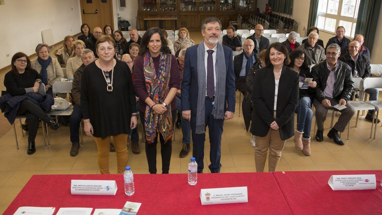 Xunta y Universidad, «preestrenan» el edificio que el campus tendrá en el centro.Isabel Carrera, directora del máster de Igualdad de la Universidad de Oviedo