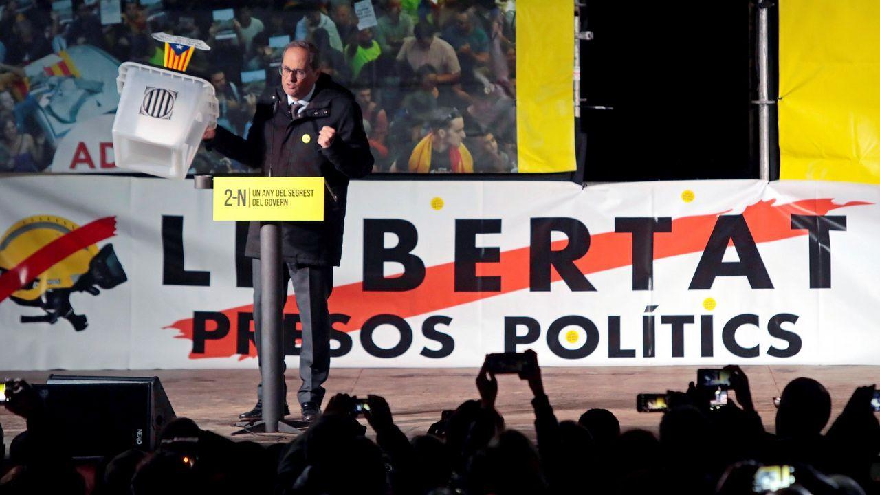 Rufián, expulsado del hemiciclo tras un intenso rifirrafe con Borrell.Borrel dijo que no puede recurrir a las embajadas mientras no cumplan la legalidad
