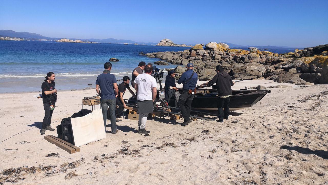 Xoel López fotografiado en A Coruña con el Atlántico de fondo