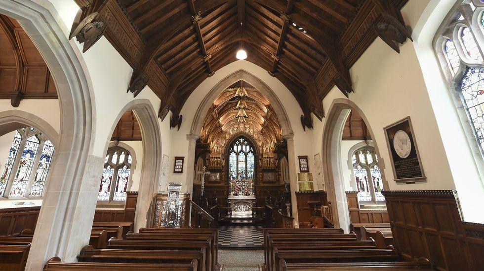 La iglesia donde se ha celebrado la ceremonia