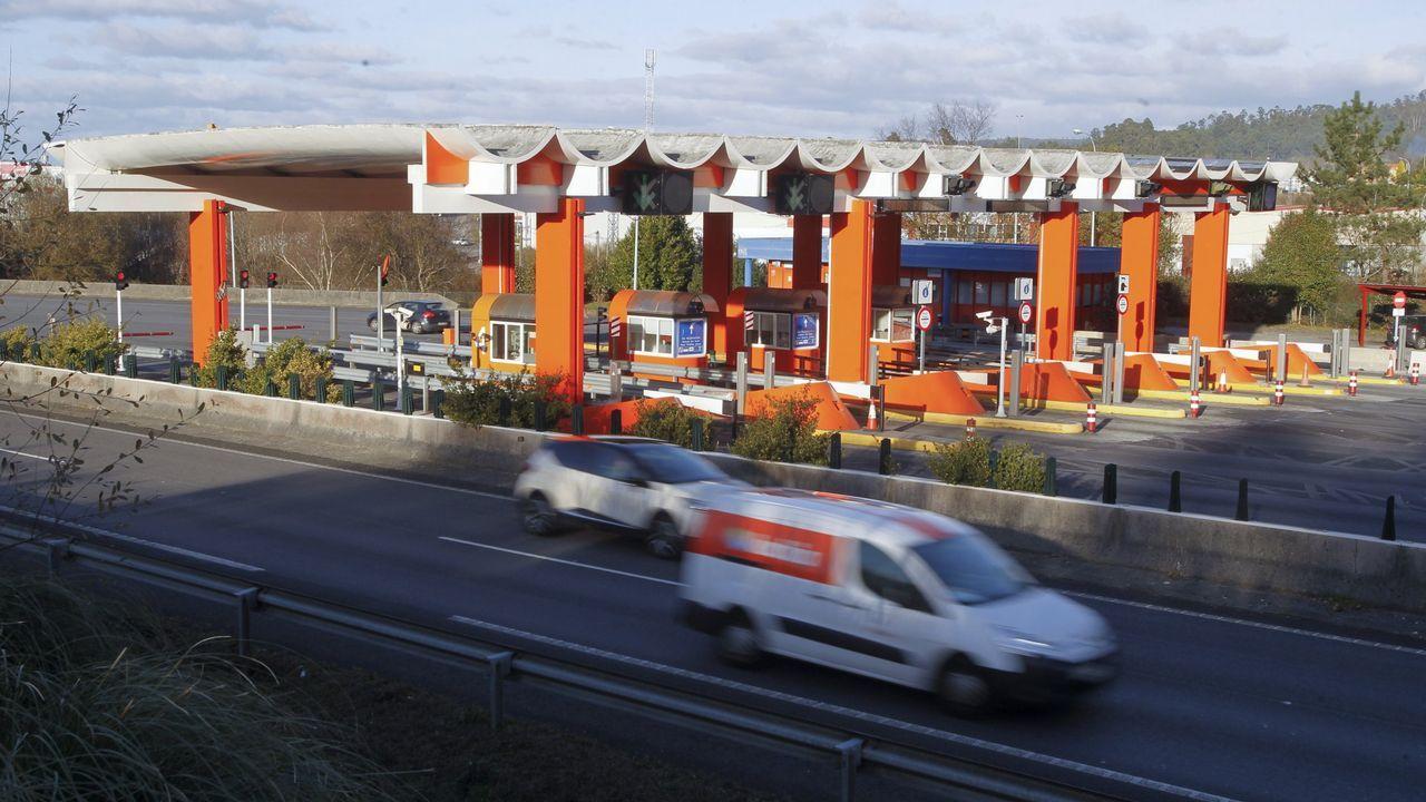Susto en la autopista.La ampliación del puente de Rande es una las obras que se financiarán con el aumento de los peajes