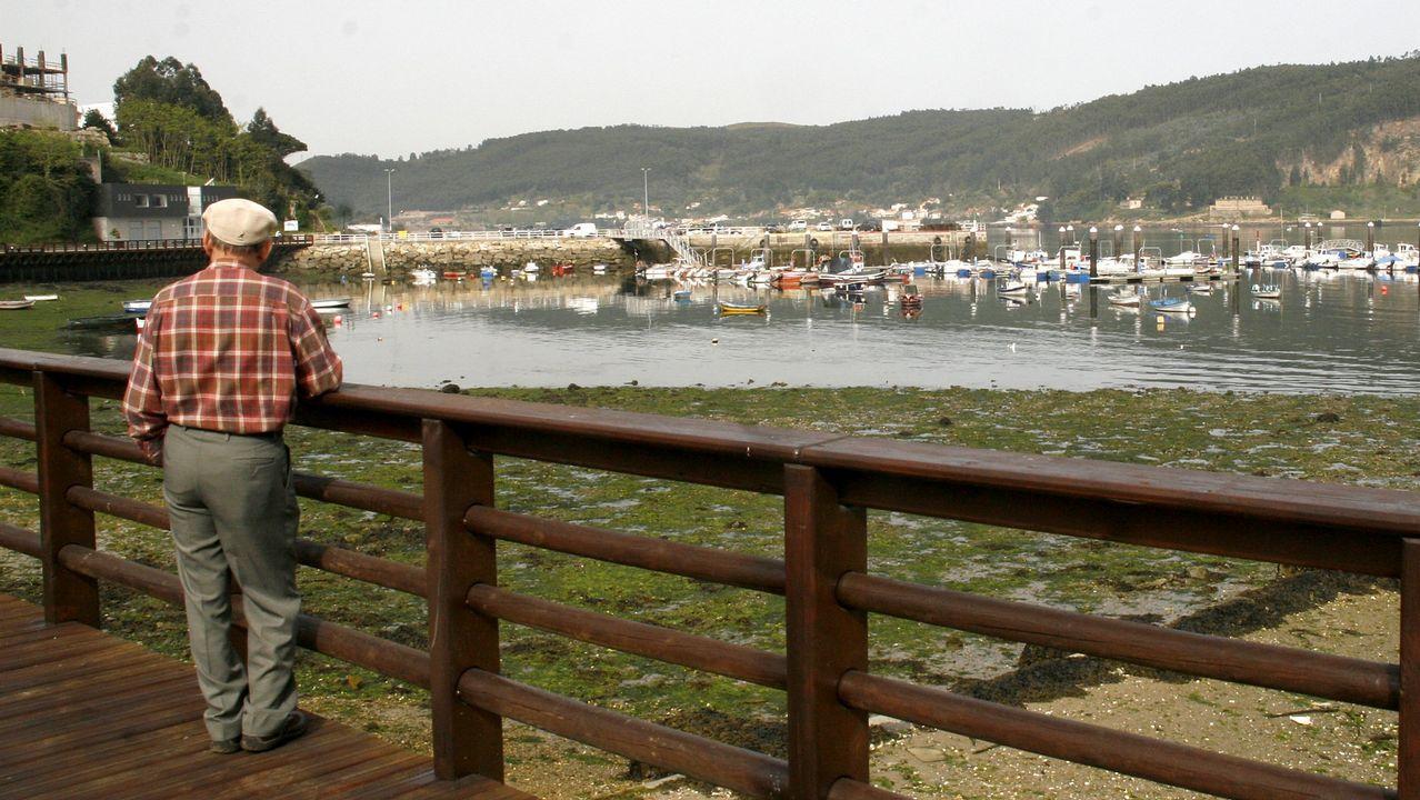 Chequeo al paseo marítimo de Mugardos