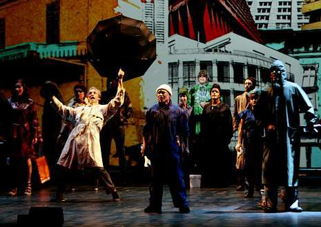 Cadaval define la obra como «rock nunha trama teatral».