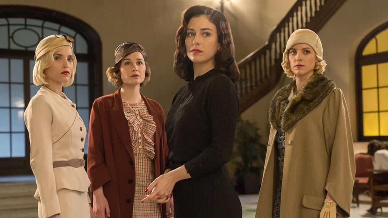 Tráiler de la tercera temporada de «Las Chicas del Cable».Lourdes Montes, Julián Contreras y Rosanna Zanetti