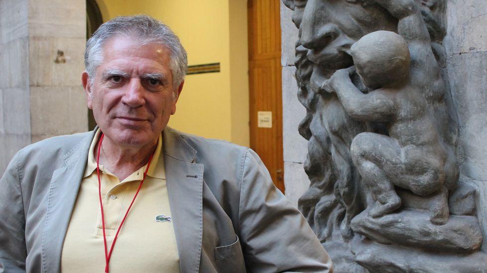Antonio Lafuente, en el Antiguo Instituto