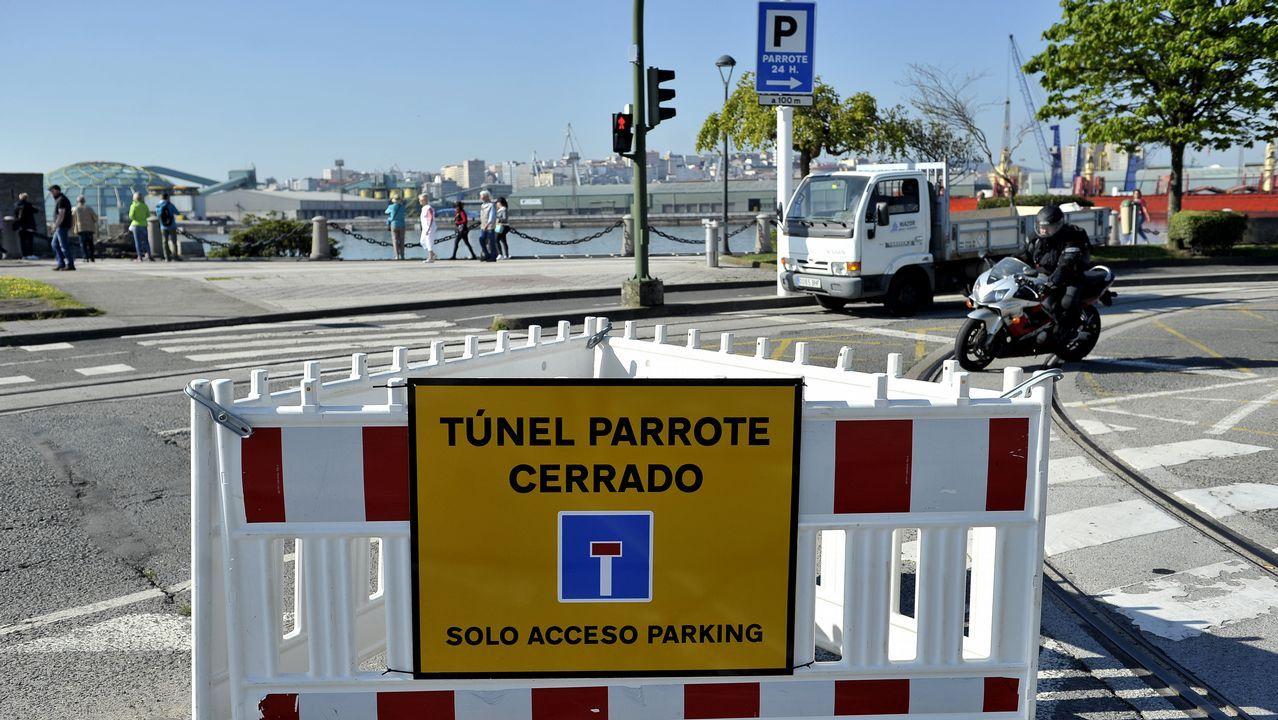 .TUNEL DEL PARROTE CERRADO AL TRAFICO