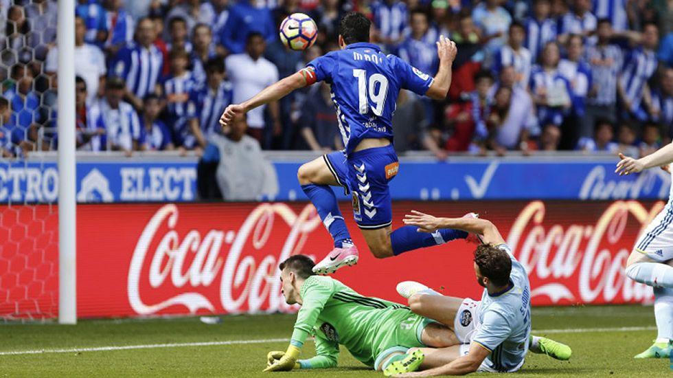 GONZALO BARRAL.Ángel Esmorís, a pesar de pertenecer al Manchester City, está cedido en el Mallorca.