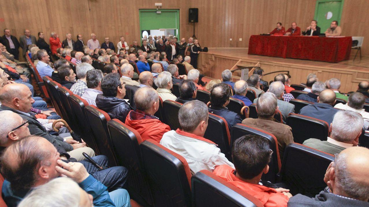 Trabajadores de Duro Felguera se manifiestan en Gijón