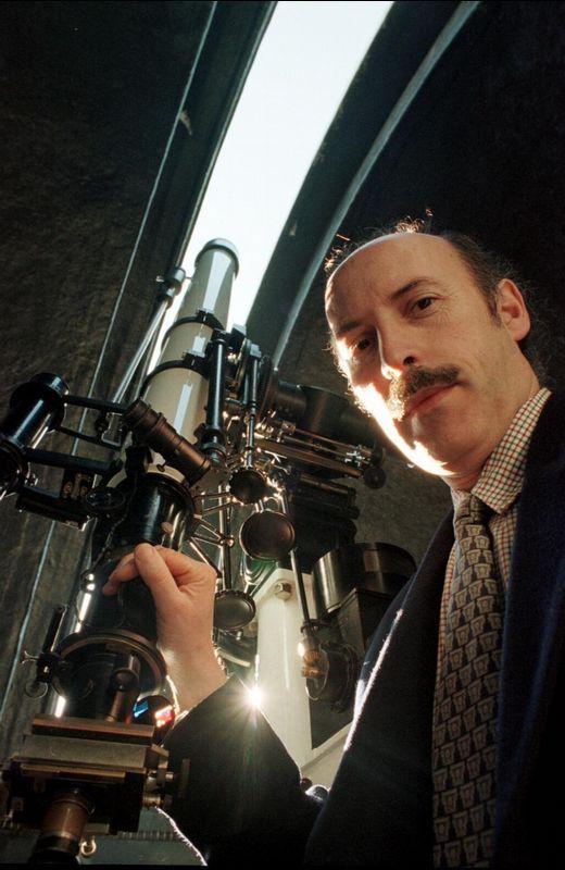 José Ángel Docobo, director del observatorio astronómico de la USC.