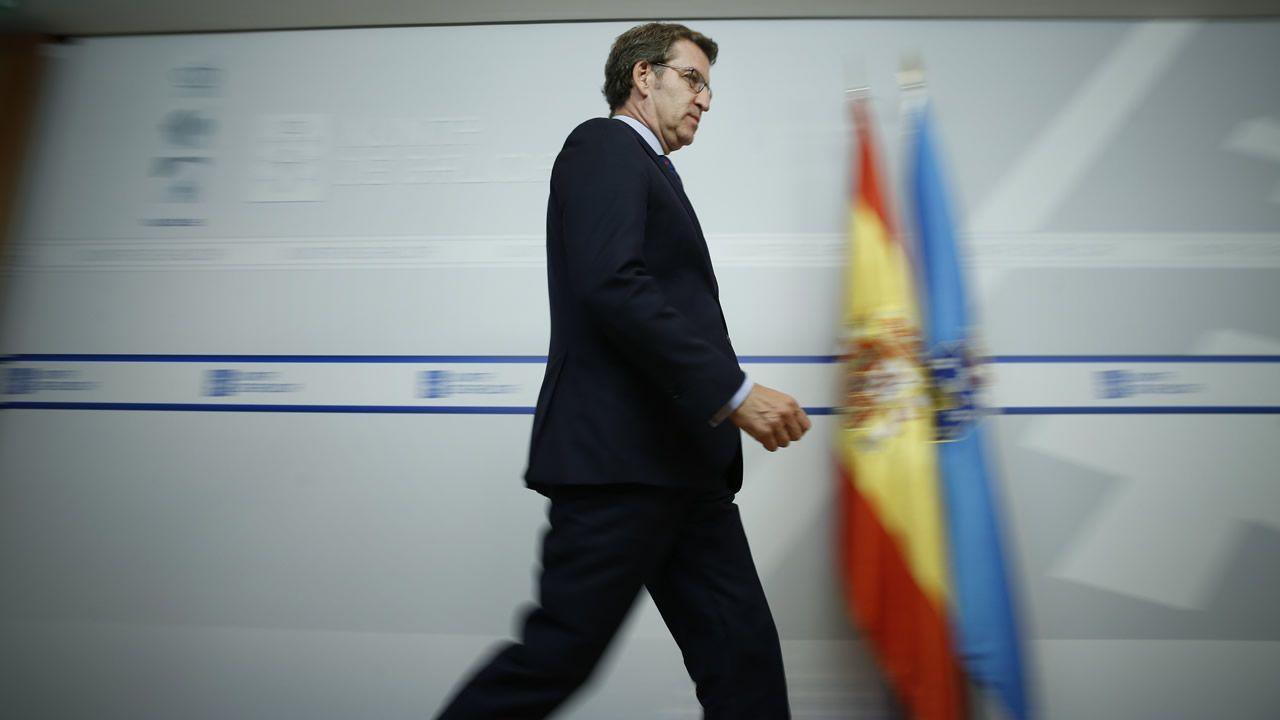 Caballero se reunió ayer con el ministro José Luis Ábalos