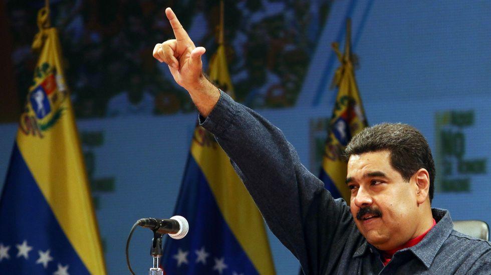 Mujica atribuye la elección de Trump al fenómeno de la globalización.Rousseff, entre Maduro y Mujica en un acto en Montevideo en el año 2013.