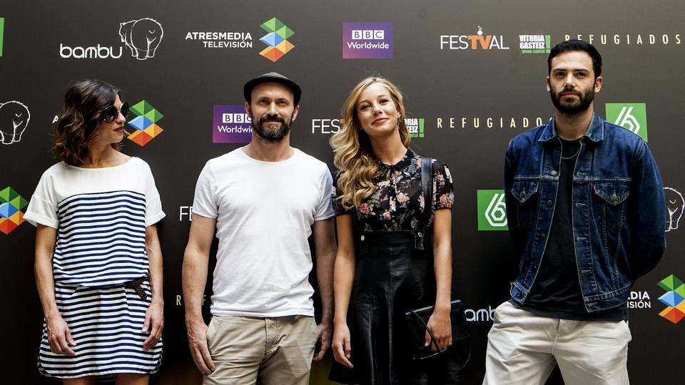 .Los actores Natalia Tena, William Keen, Charlotte Vega y David León