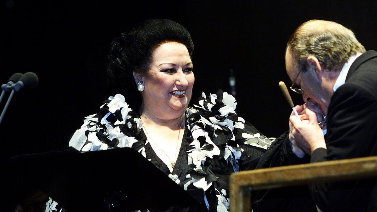 Último adiós a Montserrat Caballé en Barcelona.Monserrat Caballé falleció ayer a los 85 años, tras una vida dedicada a la música