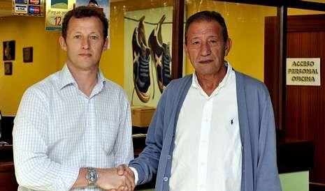 El técnico Manolo García cuenta con el máximo apoyo por parte del presidente del Racing, Isidro Silveira.
