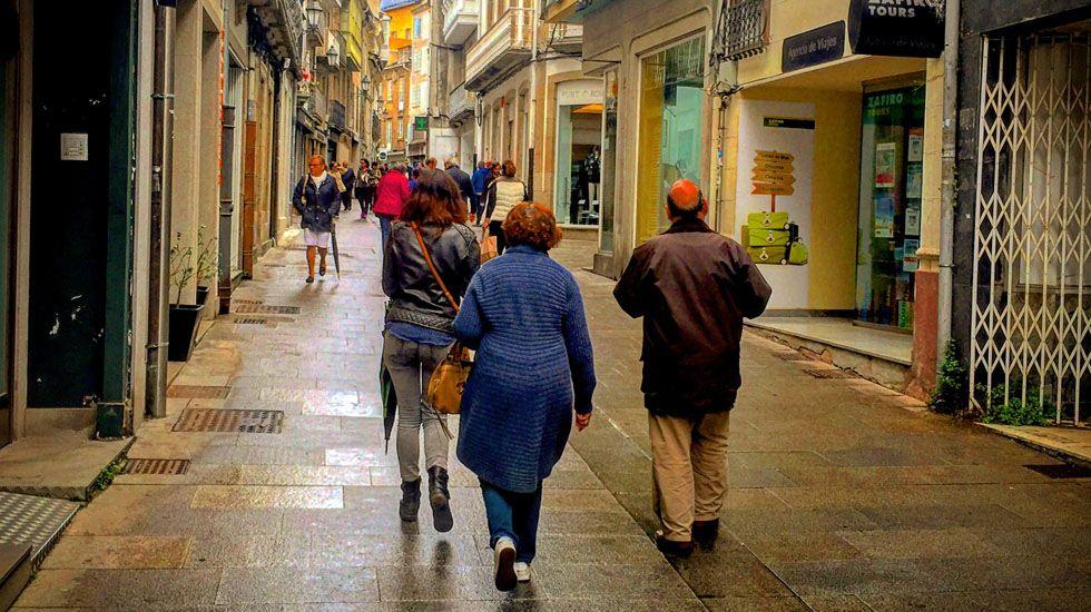 Rúa de San Pedro. Lugo.Rúa de San Pedro. Lugo