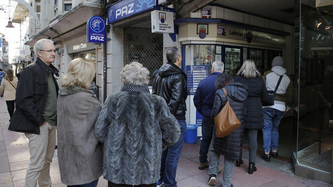 Desbordamientos y calles anegadas, así ha sido el paso de Ana por Pontevedra