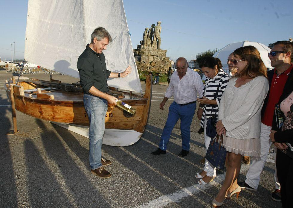 La carpa del marisco abrió sus puertas el jueves, ayer se inauguró la carpa de los pinchos.