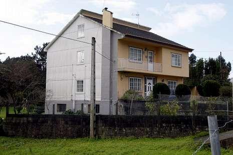 Sara Carbonero en «La Jugada».La casa familiar está en una pequeña aldea de Porto do Son.