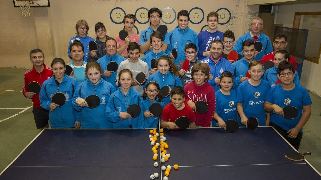 .Club de tenis de mesa de Zas.