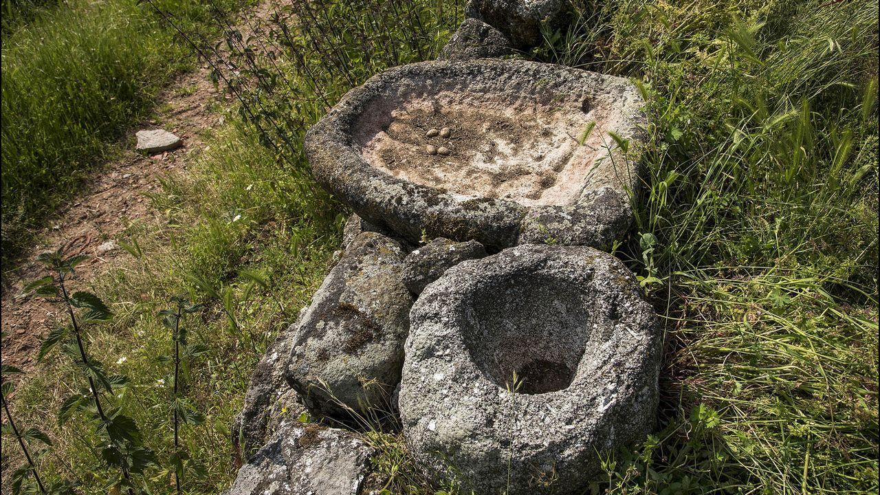 Restos arqueológicos en Vilar