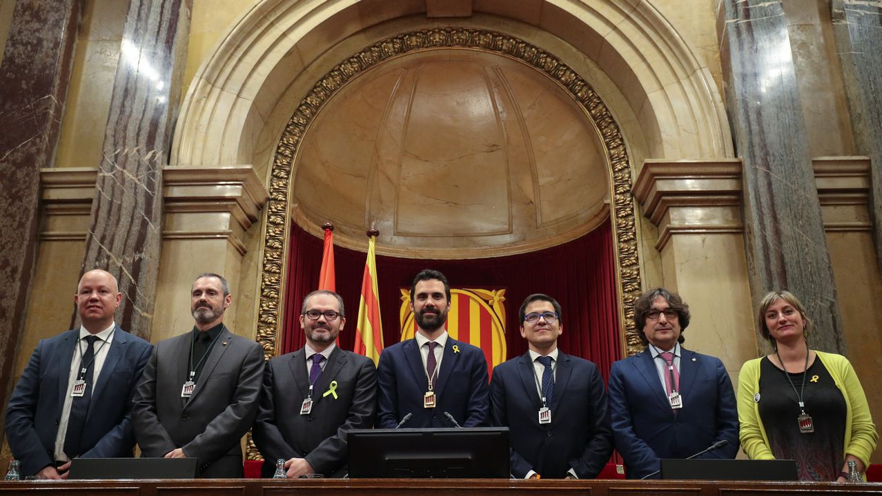 Roger Torrent: «Propongo al diputado Carles Puigdemont como candidato a la presidencia de la Generalitat»