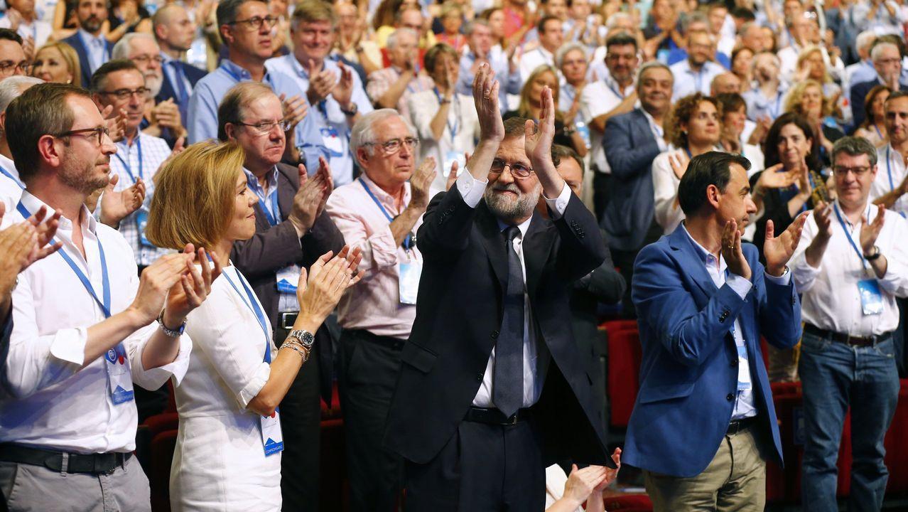 El presidente del grupo popular en la Eurocámara, Manfred Weber, participa en el Congreso Nacional del Partido Popular que se celebra en Madrid