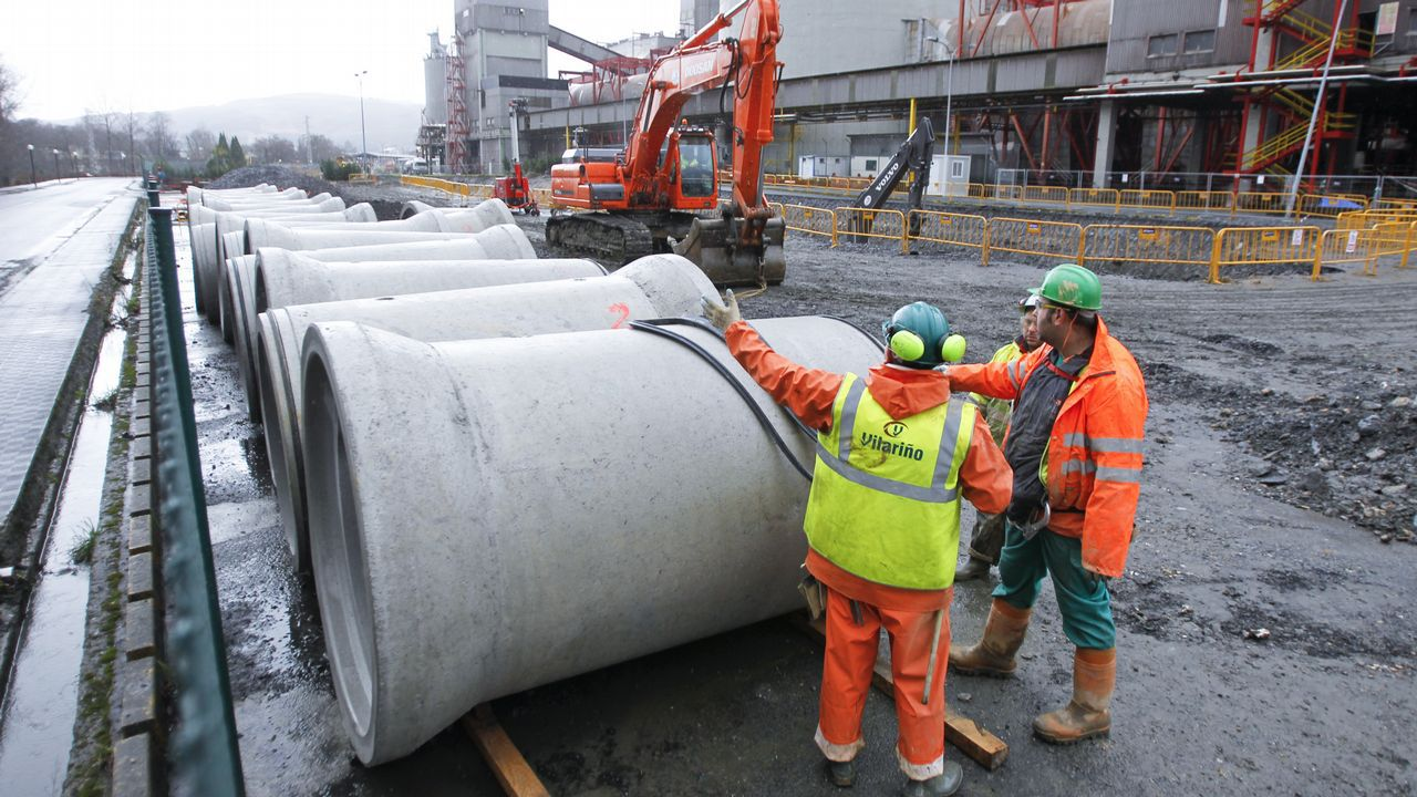 Los trabajadores de Asturleonesa paralizan la venta de carbón