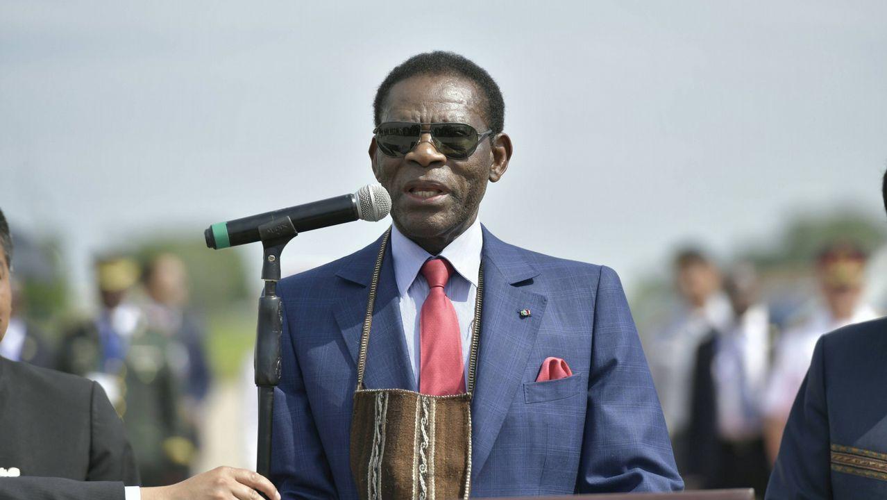 Teodoro Obiang, en una imagen de archivo