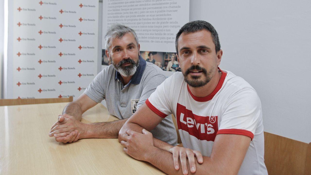 Ellos son los primeros gallegos mayores de edad del milenio.Pedro Sánchez