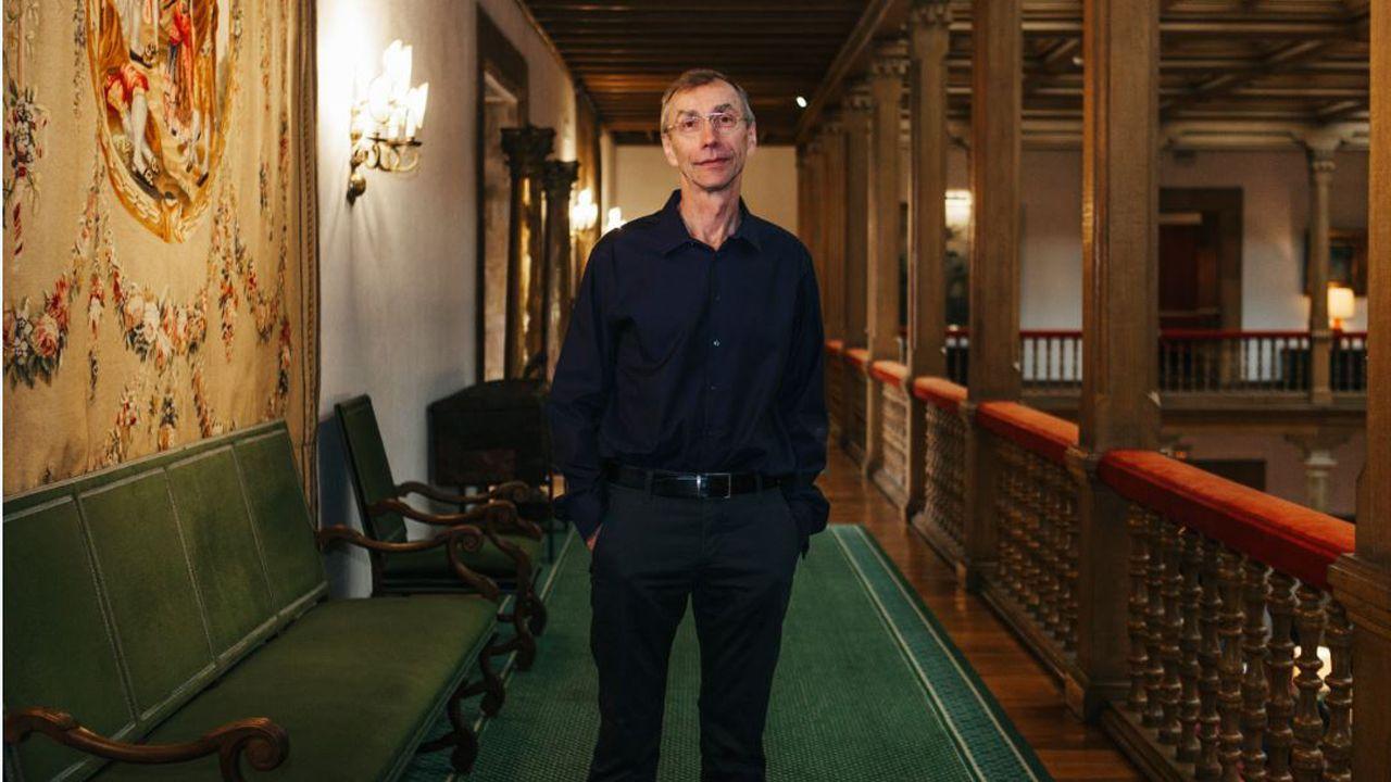 Entrega dos Berberechos de Honra en Noia.Svante Pääbo,  Premio Princesa de Asturias de Investigación Científica y Técnica 2018