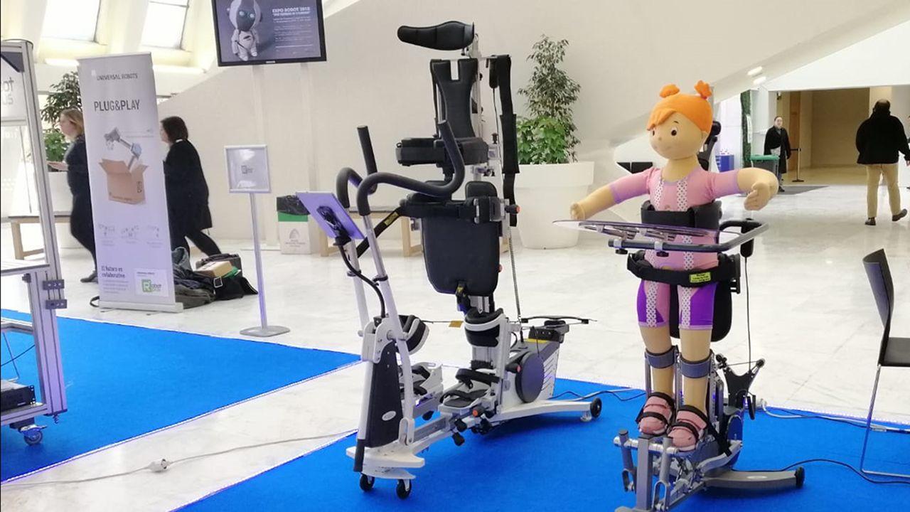 Robots para la bipedestación