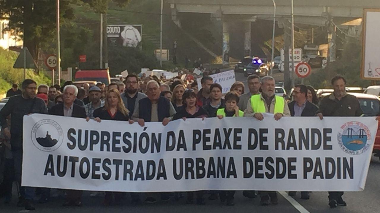 Enésima protesta contra el peaje más caro de España