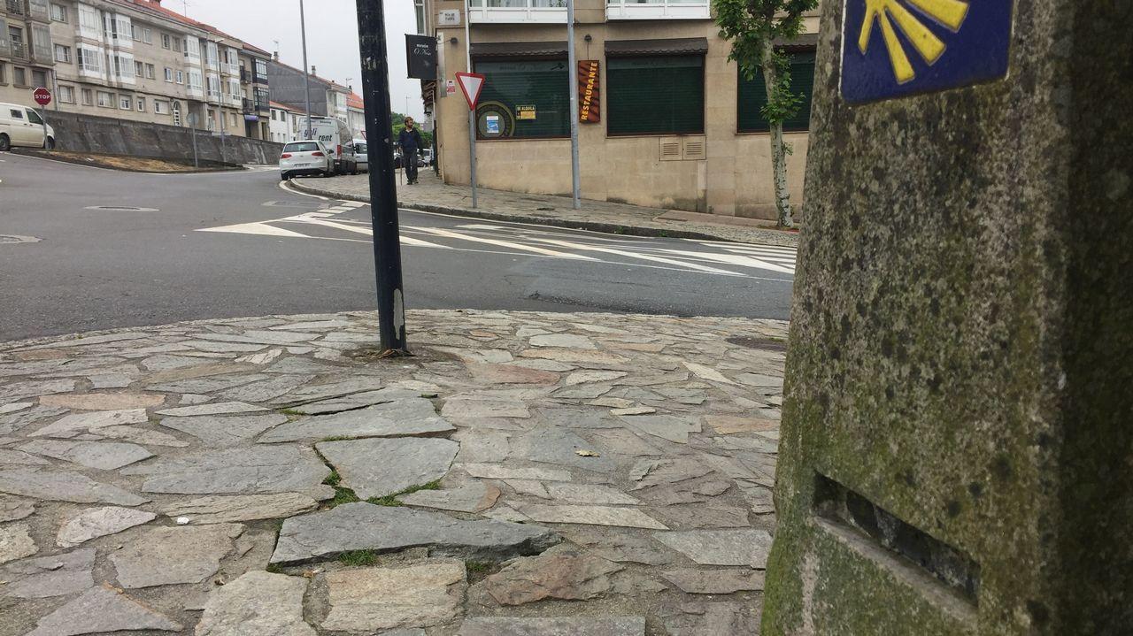 ¿Quién se lleva las placas del Camino de Santiago?.