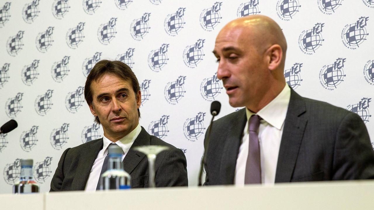 En directo: Lopetegui presentado como nuevo entrenador del Real Madrid.La nueva delegada del Gobierno, Delia Losa