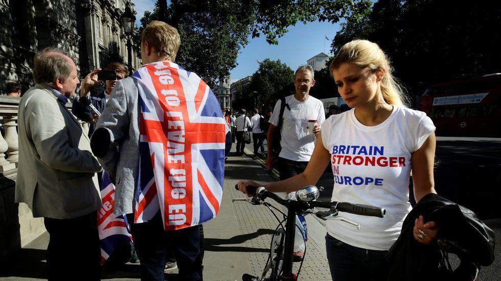 «Vamos a seguir independientes, ahora estamosen una situación de mayor fortaleza».Decepción entre los partidarios de quedarse en la Unión
